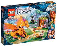 2016 RELEASE LEGO ELVES - Fire Dragon's Lava Cave [SUMMER]