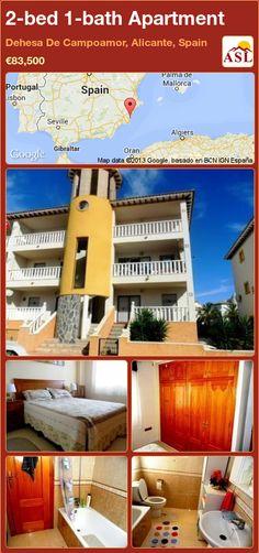 2-bed 1-bath Apartment in Dehesa De Campoamor, Alicante, Spain ►€83,500 #PropertyForSaleInSpain
