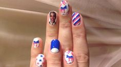 Presidential endorsemt at Katy Perry's fingertips.