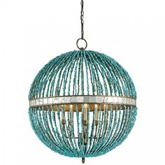 Currey and Company Alberto Orb Chandelier 5L | Chandeliers | Currey and Company | Brands | Candelabra, Inc.