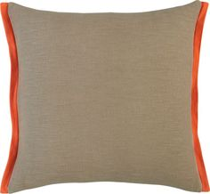 "for the bedroom . boundary oat-orange 18"" pillow in all rugs/pillows 