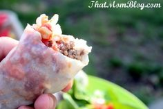 Weight Watchers Rice Paper Taco's approx 7+points for 3!!