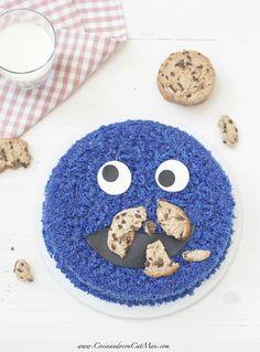 Cookie Cake - tarta monstruo de las galletas