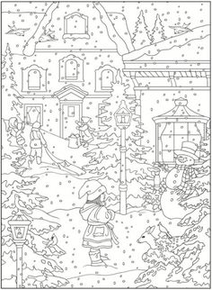 FREE Printable Castle Coloring Book with 22 Famous Castles
