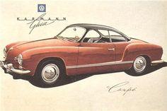Volkswagen Karmann Ghia, 1955-1974