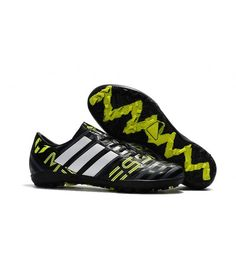 Adidas Messi Nemeziz 17.1 TF Suola Per Erba Sintetica Scarpe Da Calcio Nero  Giallo 5b44b180780