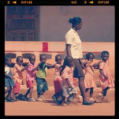 Compassion kids in Haiti: I will help out here one day! Yes I will!