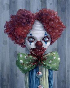 Megz Majewski - 2013 - Zombie clowns