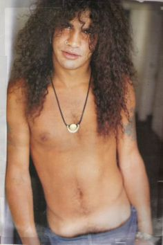 just LOVE his hair!! slash, guns n roses, velvet revolver