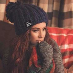 Obsessed with knit hats