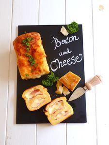 クロックケーク〜ベーコン&チーズ