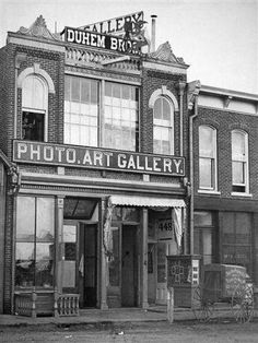 The Duhem Brothers photography studio was located at 448 Larimer St. in Denver.