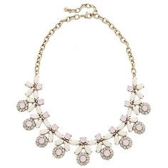 Forget-Me-Not Necklace - Ivory