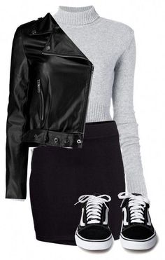 Rock Chic Outfits, Trendy Outfits, Fall Outfits, Cute Outfits, Black Women Fashion, Look Fashion, Womens Fashion, Fashion Fall, Fashion 2018
