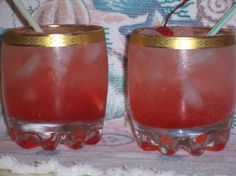 Cherry Vodka Limeade - I could use one of these right now.