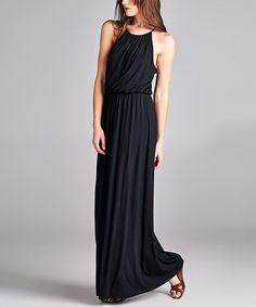 Back Lace-Back Sleeveless Maxi Dress #zulily #zulilyfinds