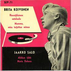 Brita Koivunen, Jaakko Salo - Brita Koivunen & Jaakko Salon Yhtye (1958, Vinyl)   Discogs Lp Cover, Vinyl Cover, Me Too Lyrics, Sound Of Music, Video Editing, Album Covers, Jazz, Writing, 1950s