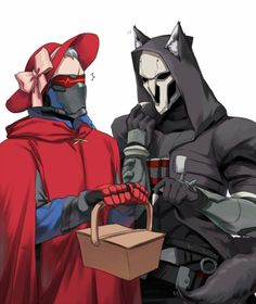 Overwatch - Red Riding Hood