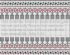 Cross Stitch Pattern Ukrainian Folk Art by BookmarksandMore4UET