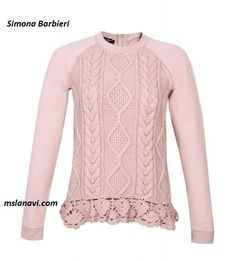 Детский пуловер спицами от Simona Barbieri - СХЕМЫ #ВязаниеСпицами http://mslanavi.com/2016/05/detskij-pulover-spicami-ot-simona-barbieri/