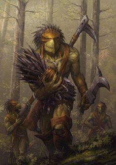 Warhammer 40k: Kroot hunters