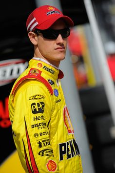 Joey Logano #22 Chicago 1st chase race results. Started: 1st Finished: 37th, dropped from 6th to 12th, -52 points behind 1st