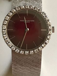 Vacheron Constantin Ladies 18k white gold & diamond Dress Watch