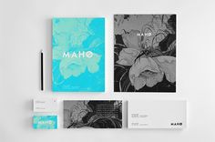 M A H O by Zdunkiewicz, via Behance