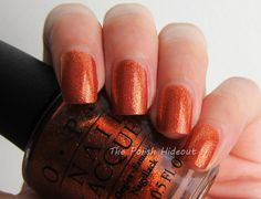 OPI A Woman's Prague-ative - Euro Centrale Collection