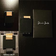 Nano Boy! www.portafogliuomo.it  #nanoboy #jaimiejacobs #slim #wallet #review #recensione #portafogli #portafoglio #portafogliuomo #minimalist #minimalistwallet #jaimie #jacobs #new #modern #walletreview @portafogli_uomo