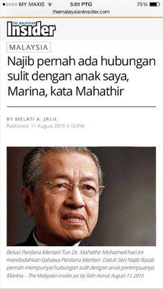 """CELAH GELEGAR: [TERSEBAR] """"Najib Pernah ada PERHUBUNGAN SULIT Den..."""