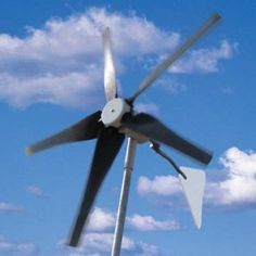 How to Make Your Own Wind Power (another thing just too cool not to pin)