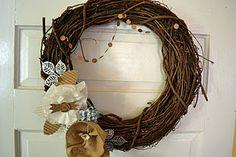 Winter Wreath- Virginia Tillery- Cabin Fever kit
