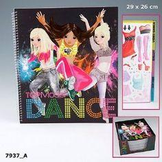 Album de Coloriage Top Model Danse - Loisir Créatif Top Model