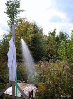 Outdoor Shower ~ Pallet <3
