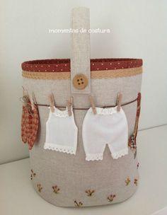 Momentos de Costura: Bolsa para pinzas