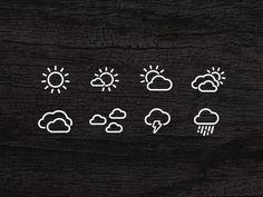Weather Icon Set by James Veluya