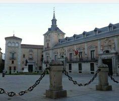 Plaza de la Villa de Madrid. España