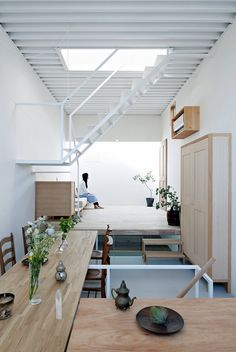 a Firm: Search the Remodelista Architect & Designer Directory STAIRS TO LOFT - House in Itami - Tato Architects.this looks like a container home?STAIRS TO LOFT - House in Itami - Tato Architects.this looks like a container home?