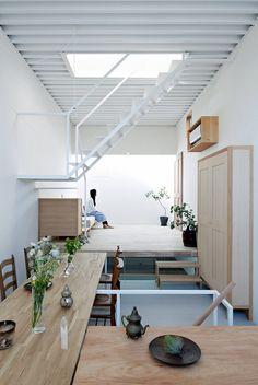 Maison japonaise à trois niveaux (9)