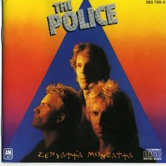 Purchase this original 1980 vinyl pressing of Zenyatta Mondatta, the third studio album for English rock band The Police. Browse our growing selection of other rock albums on vinyl at Voluptuous Vinyl Records! Vinyl Lp, Vinyl Records, Lp Cover, Cover Art, Illuminati, Lps, The Police Zenyatta Mondatta, 80s Album Covers, Classic Album Covers