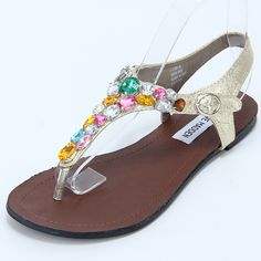 66c80ec290f85 free shipping Bling luxurious gem rhinestone diamond flat flip flop sandals-inSandals  from Shoes on Aliexpress.com  22.12