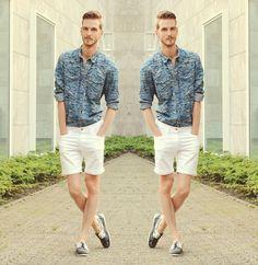 H Denim Shirt, Asos Denim Shorts