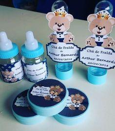 Baby Shower Treats, Baby Boy Shower, Adriana Lima Baby, Juegos Baby Shower Niño, Bear Theme, Baby Shower Centerpieces, Baby Shark, Birthday, Teddy Bear Party