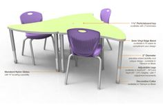 Artco Bell Discover Table http://www.artcobell.com/Downloads/DiscoverTable-Aperature.pdf