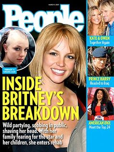 PEOPLE (2007)   Britney Spears