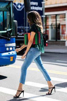 PE2017 street style new york fashion week printemps ete 2017 208