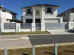 BuildDirect Africa - Laser Cutting and CNC Routing Building Exterior, Building Facade, Wrought Iron Gate Designs, Laser Cut Aluminum, Building An Addition, Steel Gate Design, Laser Cut Screens, Metal Gates, Exterior Cladding