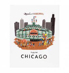 Chicago Illustrated Art Print