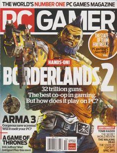 PC Gamer Magazine (October 2012) « Library User Group